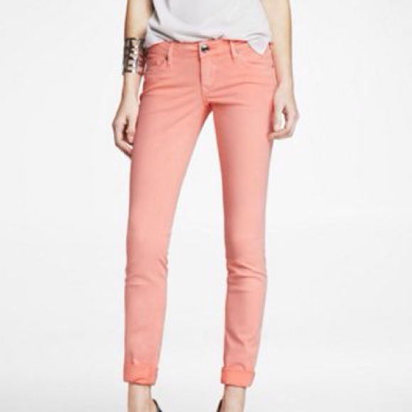 Express Colored Skinny Jean