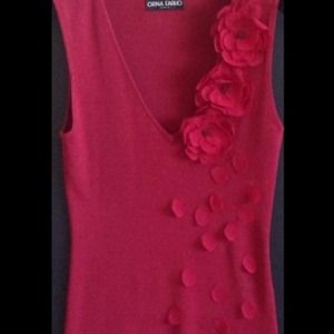 🅾⬇️Reduced ⬇️🅾Wine/Burgundy color sleeveless top