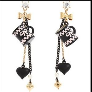 Authentic Betsey Johnson EARRINGS....