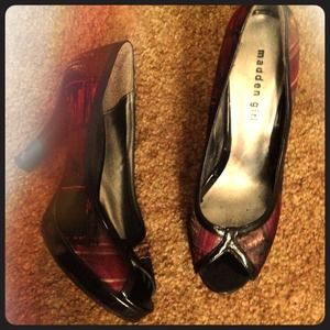 Reduced! Peep-toe Heels