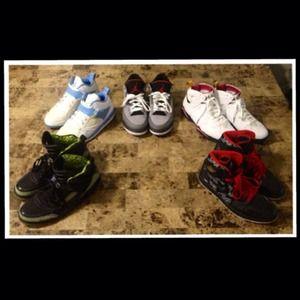 💯% Authentic Nike Jordans, Men's 9