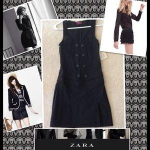 💃💃💃 Zara TRF Black Adorable Dress 💃💃💃