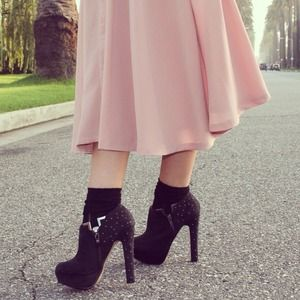 Black Booties-Reduced!