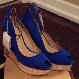 Zara shoes 2013 spring collection in blue!