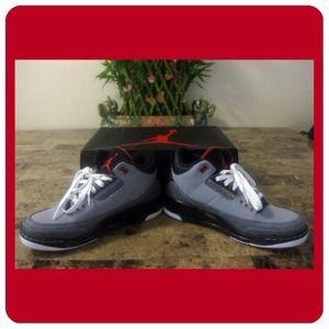 Nike Air Jordan 3 Retro Stealth, Men's 9