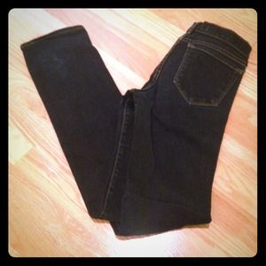 J Brand skinny straight leg stretch dark jeans