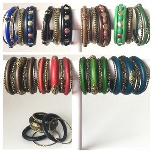Marrakesh Style Jewelry - 2 Sets Marrakesh Style Bangles