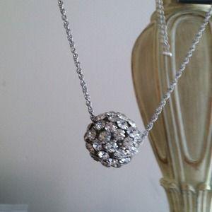 Jewelry - Diamond ball necklace