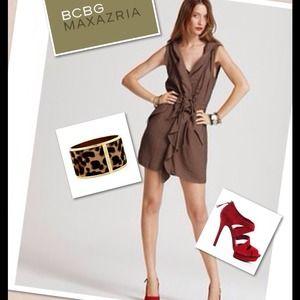 ❌SOLD❌ BCBG Max Azria Hooded  Dress