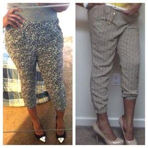 H&M Pants - ❌RESERVED❌ H&M Harem pant Bundle !