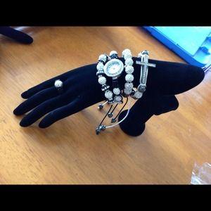 Jewelry - Shamballa bracelet set