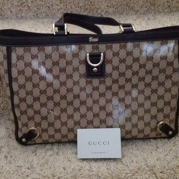 83becc7a7 Gucci Bags | Authentic Crystal Bag Very New | Poshmark