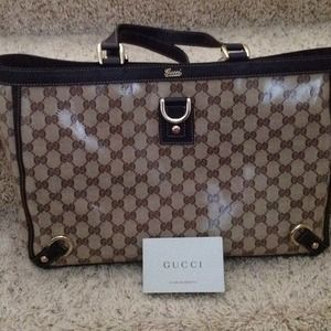 Authentic Gucci crystal bag very new