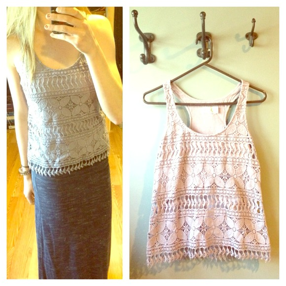🔴SOLD🔴 Urban Outfitters lace tank