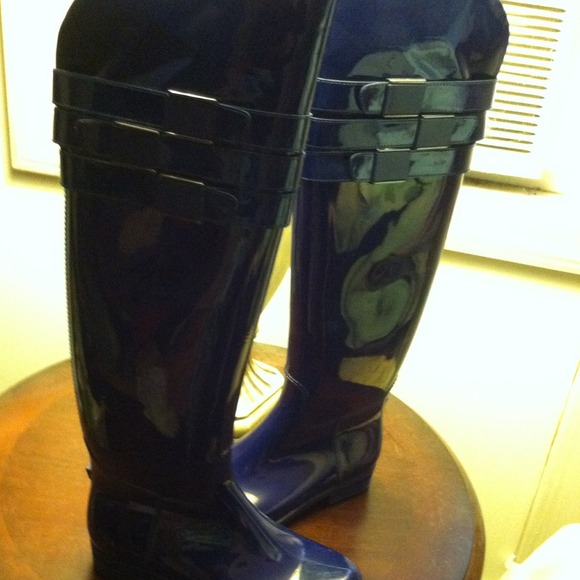 Over The Knee Rubber Boots Coltford Boots