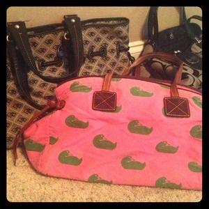 Dooney/coach handbags light wear