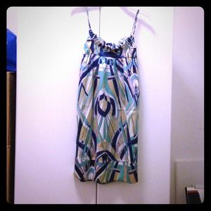 Moods of Norway Dresses & Skirts - Silky summer geometric designed sundress!!