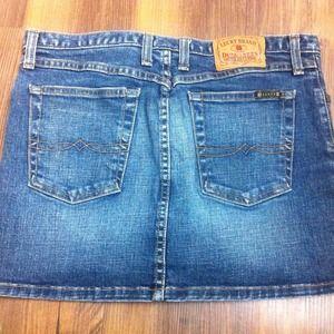 Dresses & Skirts - Lucky Brand Denim Mini Skirt