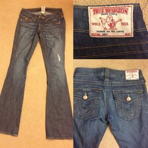 True Religion Denim - True religion jeans X skirt bundle