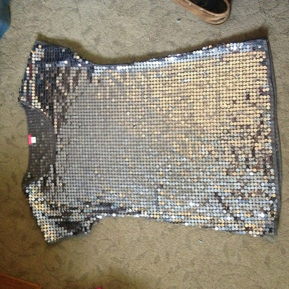 Lux Dresses & Skirts - Silver Sequin Lux dress