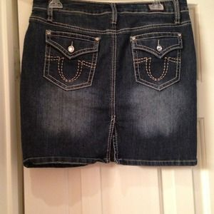 Earl Jean Jeans - Jean skirt size 8