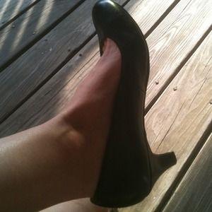 Shoes - Black Steve Madden Girl Heels