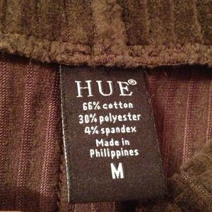 Hue Skirts - Hue Brown Stretchy Corduroy skirt