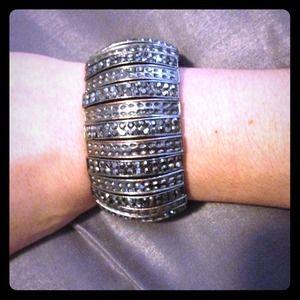 bebe Jewelry - Bebe bracelet cuff💖Charcoal Grey/Pewter 💖💍💎💗