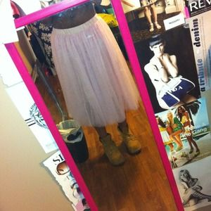 Baby Pink Tulle Skirt
