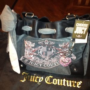 Juicy Couture Handbag AND wallet set