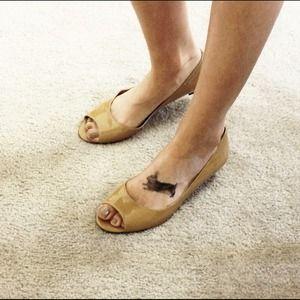 Diane von Furstenburg Shoes - DVF Peep Toe Heels