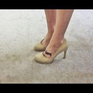 BCBGeneration Shoes - BCBG Tan Pumps Heels