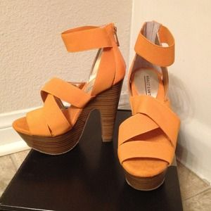 Marco Santi  Shoes - Sexy Strappy Sandals - Orange