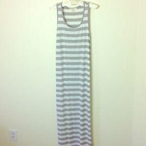 Forever 21 Dresses & Skirts - STRIPED MAXI DRESS