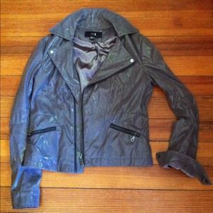 Forever 21 faux leather motorcycle jacket