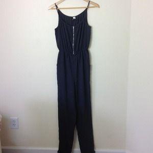 H&M Other - Navy Blue Jumpsuit Romper