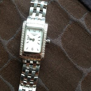 Longines Accessories - Genuine Longines w pave diamonds watch