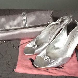 Shoes - Nina shoes and clutch, with original dust bag