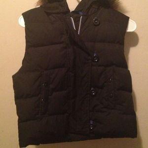 The Gap Fur Puff Vest