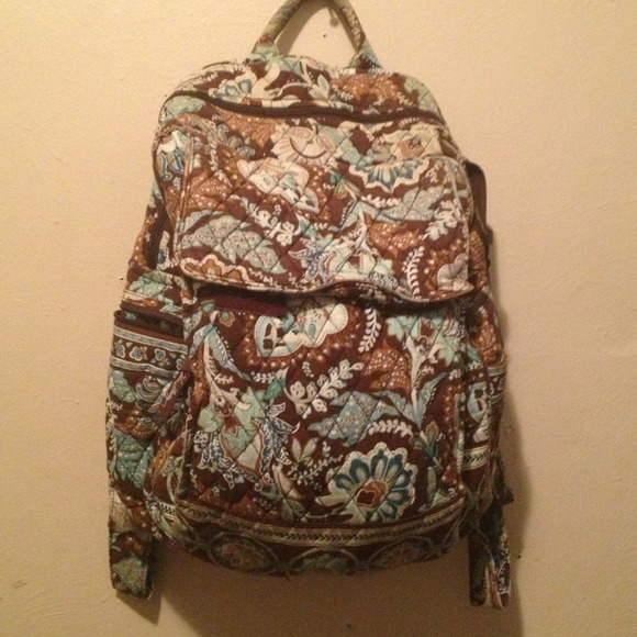 a3913cdc63c Vera Bradley Bags   Java Blue Backpack   Poshmark