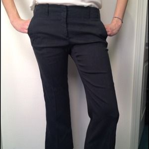 Theory blue cropped pants