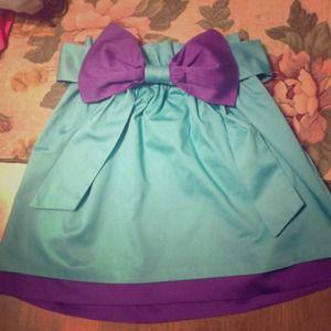 Emma Graham bow skirt XS/S