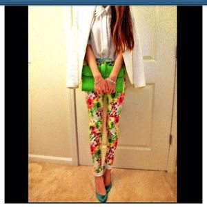Afternoon Daydreams Floral Pants