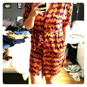 attention Dresses & Skirts - Tribal print shirt dress