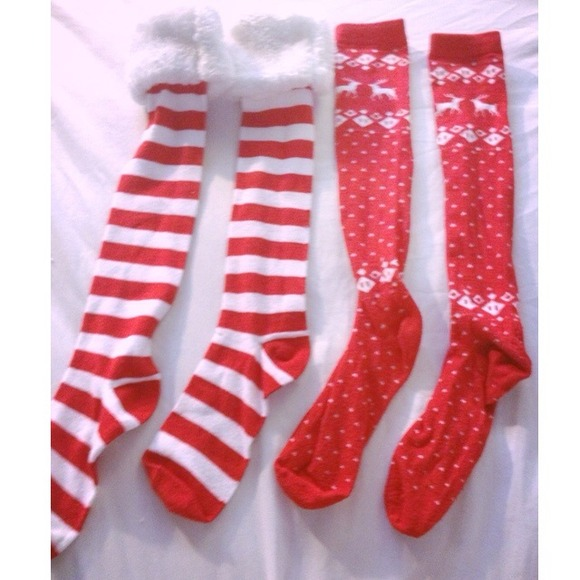 christmas themed knee high socks - Christmas Socks Target