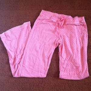 Pants - TRADED! Pink star Victoria's Secret pajama pants