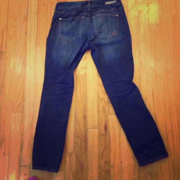 63% off Express Pants - Express skinny low rise jeans size 6 s rn ...