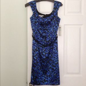 Maggy London blue dress.