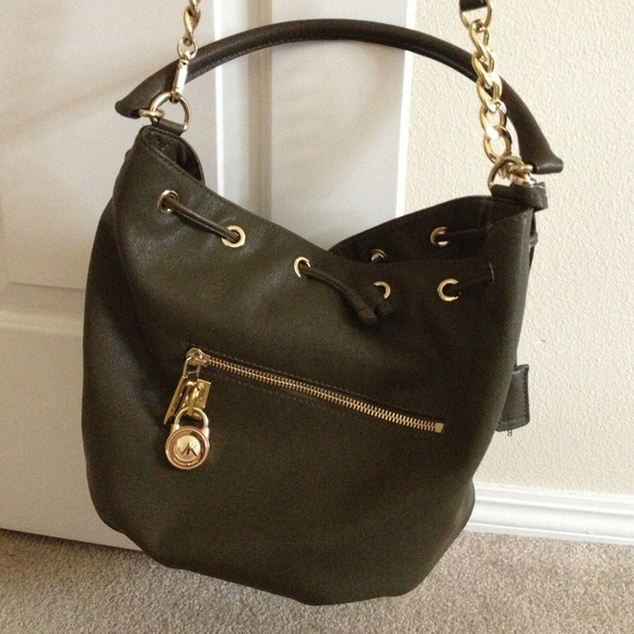 32 off michael kors handbags army green colored michael