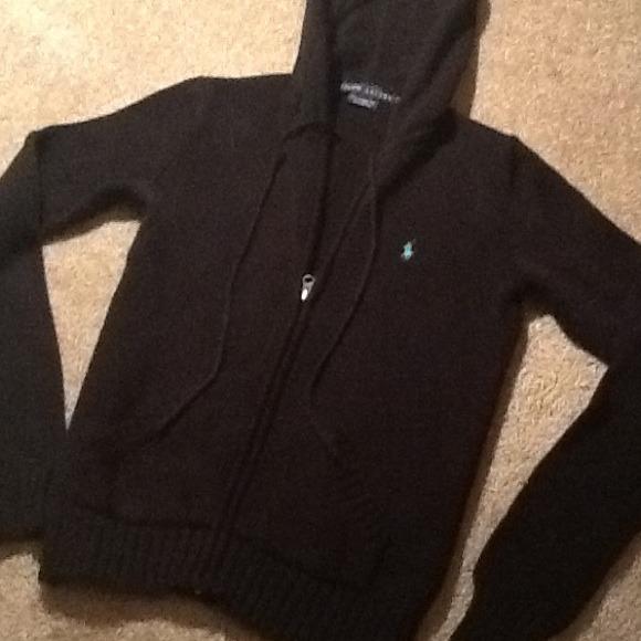 Ralph Lauren Sweaters Zip Hoodie Sweater Navy Blue Sz Xs Poshmark